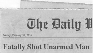 shooting of an unarmed man