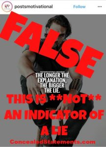 Debunking myths about lies