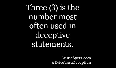 3 Is A Liar's Number