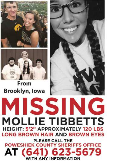 Mollie Tibbetts Disappearance