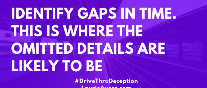 Drive Thru Deception - Laurie Ayers