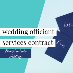 Officiant Contract